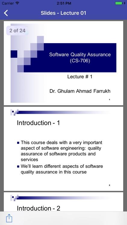 CS706 - Software Quality Assurance screenshot-3