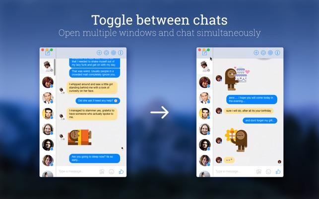 MessengerPro on the MacAppStore