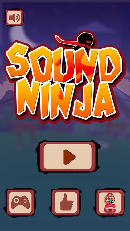 Don't stop! Sound Ninja - voice control game