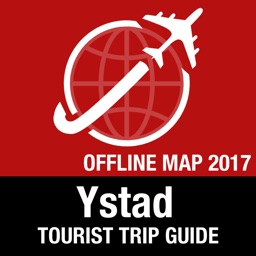 Ystad Tourist Guide + Offline Map