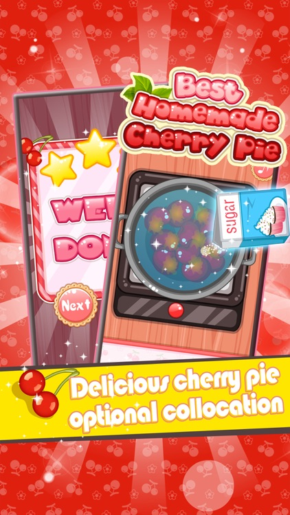 Best Homemade Cherry Pie - Cooking game for kids screenshot-3