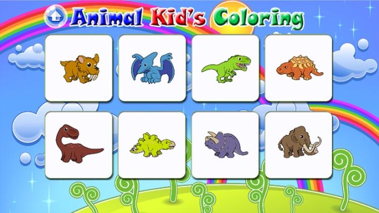 Cute Animal color books for Kids screenshot-3