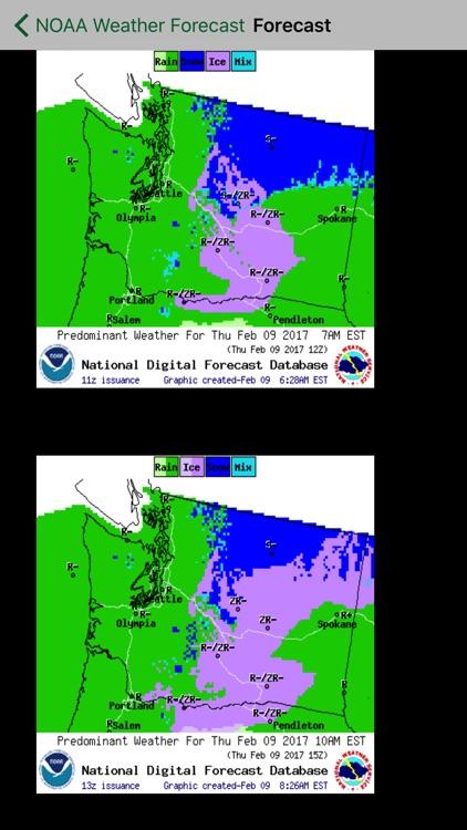 Instant NOAA Weather Pro screenshot-4