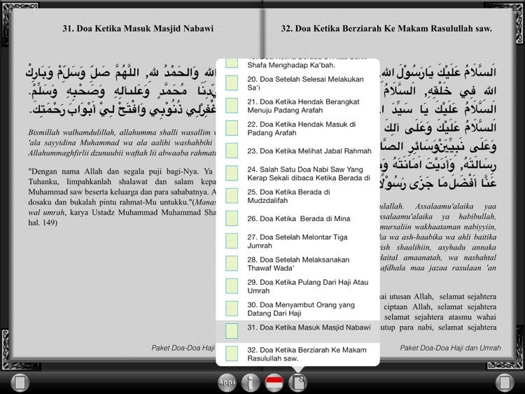 Hajj and Umrah Duaa Collection for iPad screenshot-4