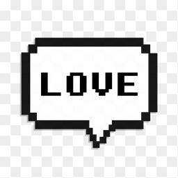 BubbleLite:pixel speech bubbles emoticon to photo