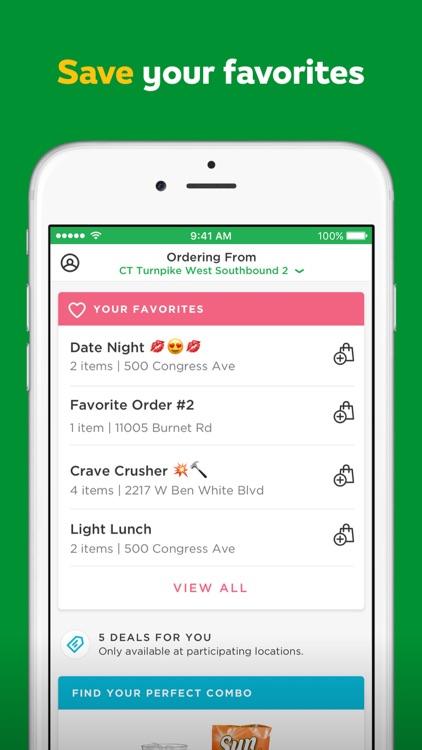 SUBWAY® App screenshot-4