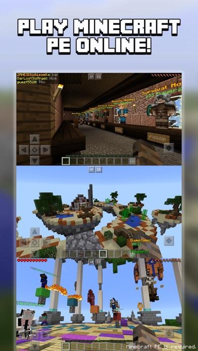 Multiplayer for Minecraft PE (Minecraft Online) app image