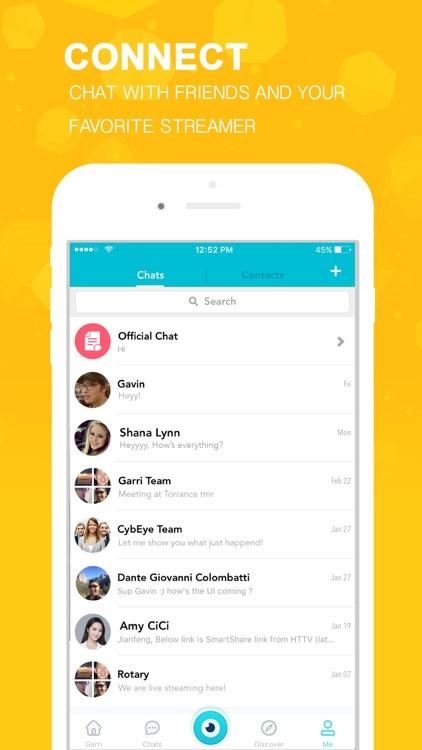 Garri Live - Social Live Streaming Video Chat screenshot-4