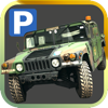 3D Military Trucker Parking Simulator