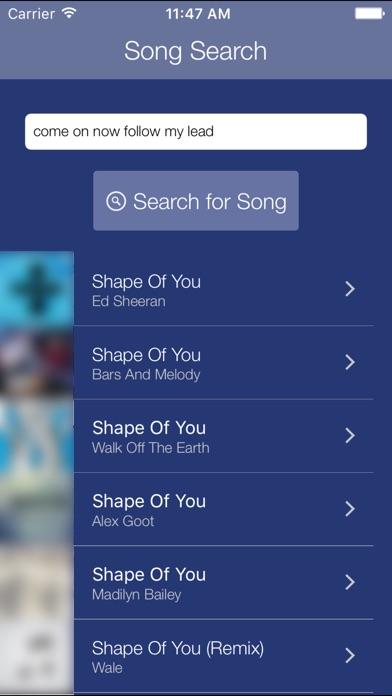 Premium Search for Music Screenshot