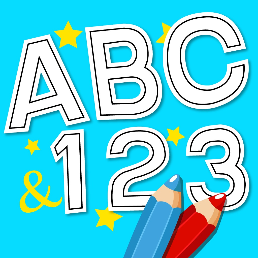 Anitrek Coloring - ABC & 123 learning app for Kids hack