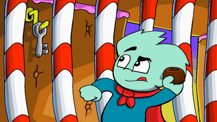 Pajama Sam 3: You Are What You Eat From Your Head