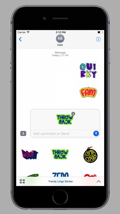 Trendy Lingo Stickers