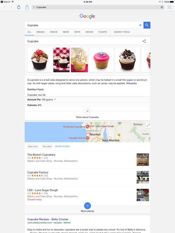 Phlo - Quick web search browser screenshot