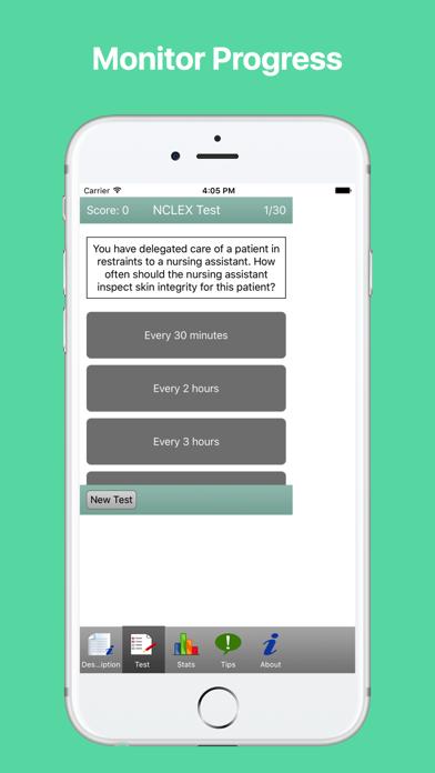 NCLEX-RN Test Preparation Screenshots