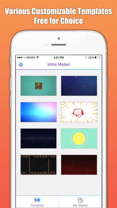 Intro maker designer free app price drops screenshot 6 for intro maker designer maxwellsz