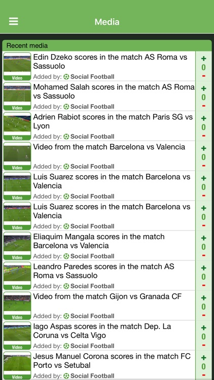 Social Football, live match scores and chat. screenshot-3