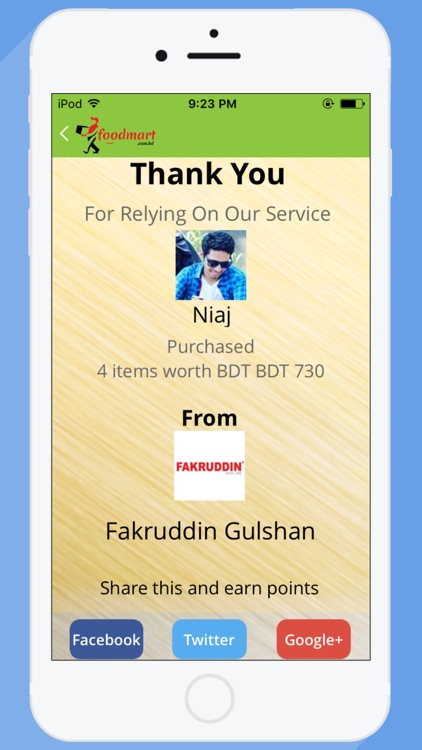 Foodmart- food delivery screenshot-4