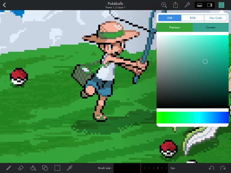 Pixaki – Pixel art studio screenshot-2
