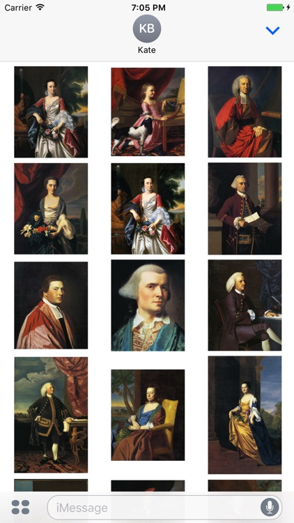 John Singleton Copley Artworks Stickers screenshot-3