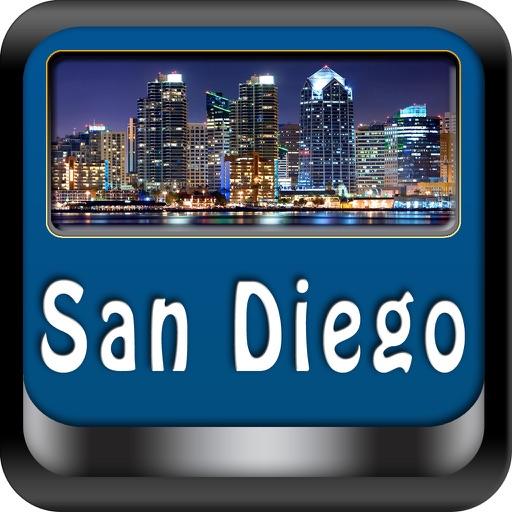 San Diego Offline Map Travel Explorer