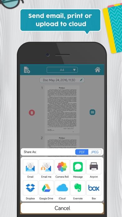 Easy Scanner Pro: PDF scanner app to scan document screenshot four