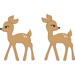Deer Sticker Pack!