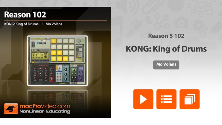 KONG: King of Drums 101