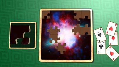 Jigsaw Solitaire Space screenshot four