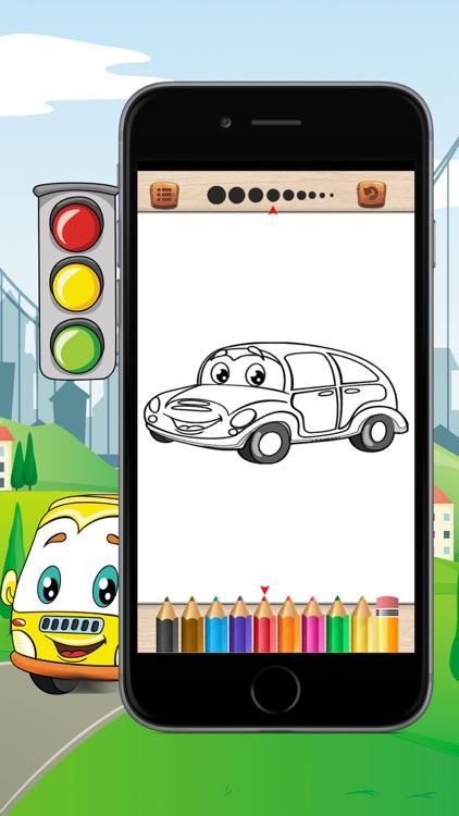 Cars Coloring Book For Kid screenshot-3