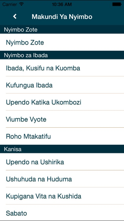 Nyimbo za Kristo screenshot-4