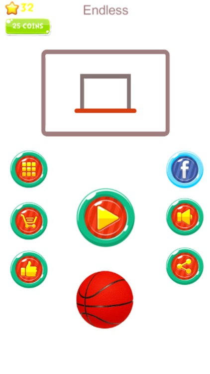 Hot Basketball:The kEtchApp Mordem Basketball Game screenshot-3