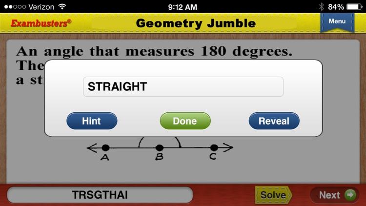 PSAT Prep Math Flashcards Exambusters screenshot-4