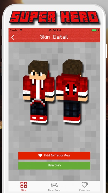 Super Hero Skins for Minecraft PE - Pocket Edition screenshot-3