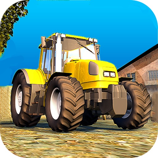 Classic Farm Tractor Simulator : Simple 3D Parking icon
