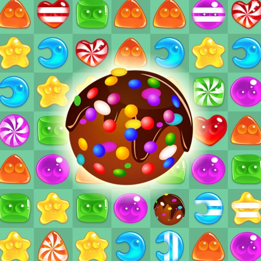 Candy Swap Fever - The Kingdom of Sweet Board Game iOS App