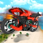 Flying Drone Bike Robot: Extreme Motorcycle
