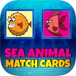 Sea Animal Match Cards Game For Kids