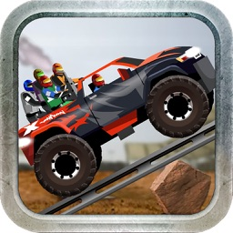Monster Truck Hill Racing Simulation
