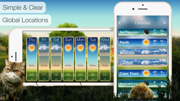 Beautiful Weather: Accurate Forecasts & Alerts Screenshot