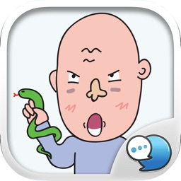 Uncle Seab Stickers & Emoji Keyboard By ChatStick
