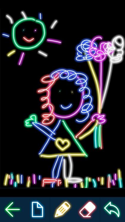 Doodle Draw - Neon Doodle