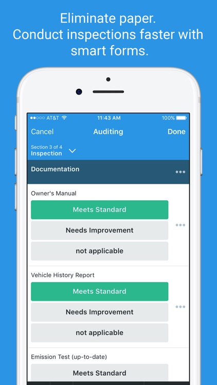 iAuditor - Safety Audits, Checklists & Inspections screenshot-0