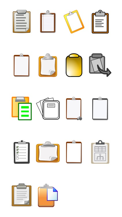 Clipboards Sticker Pack
