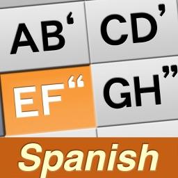 1Hand Mail / SMS Spanish Keyboard