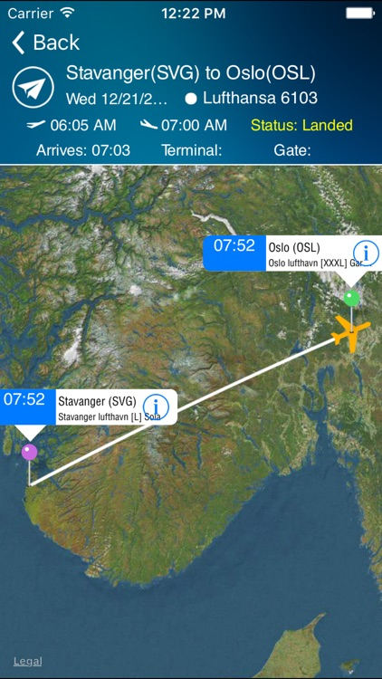 Oslo Airport Pro (OSL) + Flight Tracker screenshot-1