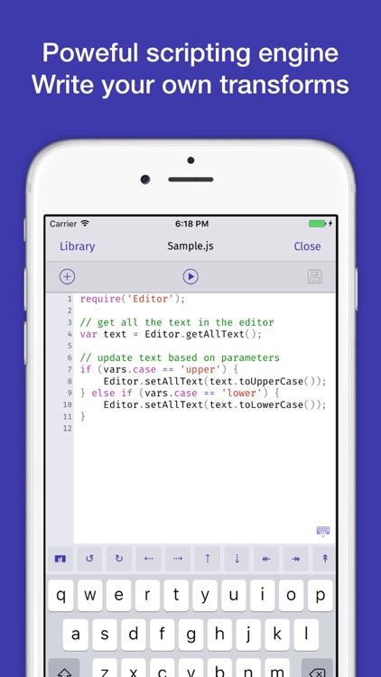 TextTool 2 - Transform Your Text screenshot-3