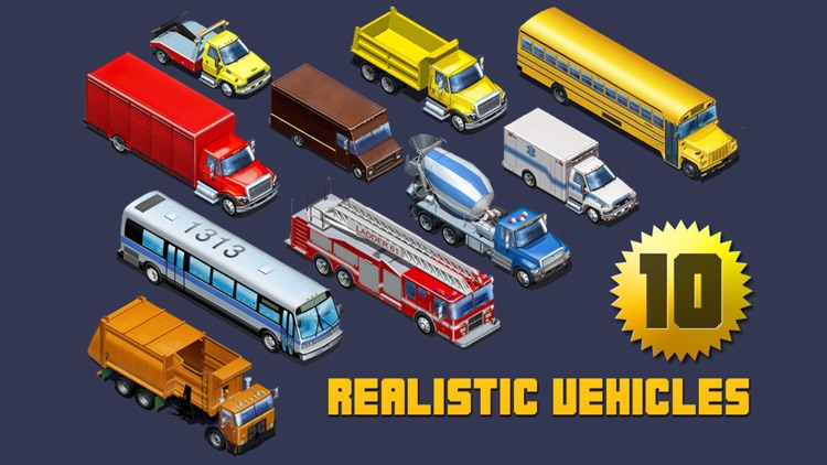 Kids Vehicles: City Trucks & Buses for the iPhone screenshot-4