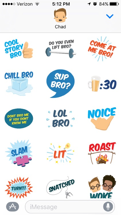 Bromoji - Bro Sports Jokes Funny Lines. screenshot-2