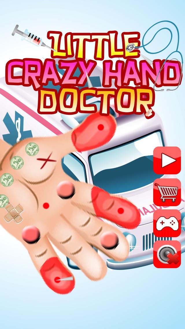 Wenig Crazy Hand Arzt ( Dr) - Kinder SpieleScreenshot von 1